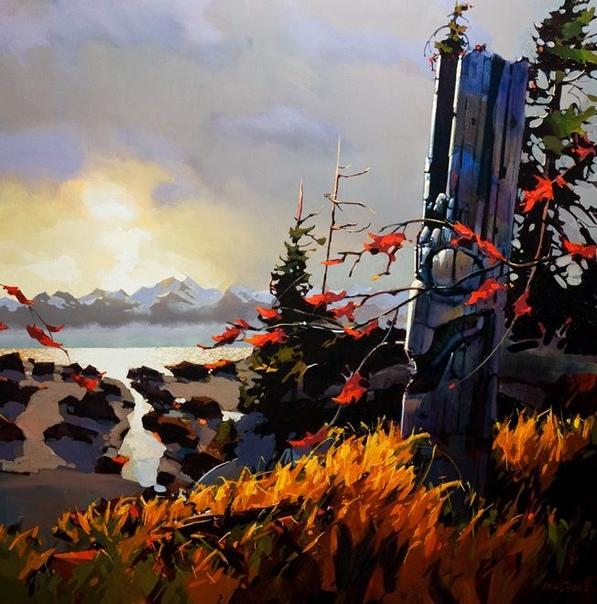 Майкл ОТул (Michael OToole) - 55-летний художник родом из Ванкувера, Канада. Изучал архитектурный дизайн в Технологическом институте Британской Колумбии, а затем переехал в Торонто, где