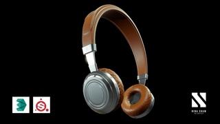 TIMELAPSE Industrial Product Design Headphones | Autodesk3dsMaxSubstancePainter