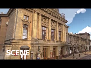 Наземное лазерное сканирование театра г. Симферополь