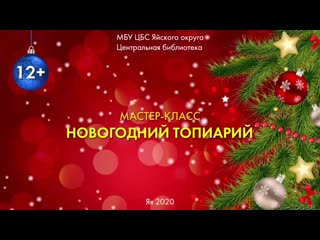 Мастер-Класс Новогодний Топиарий.mp4