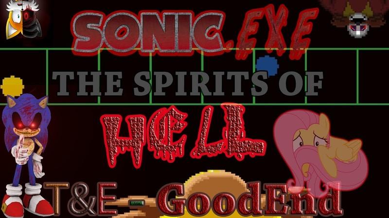 Премьера сегодня в 19 30 по МСК I see you in the DARK creepypasta Sonic exe The spirits of hell ROUND 1 6 T E GOOD END