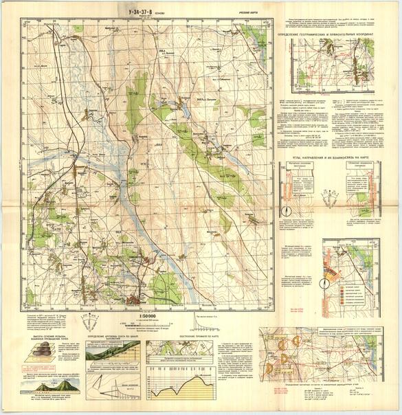 Учебная топографическая карта .. | Курс ПАРТИЗАН | ВКонтакте