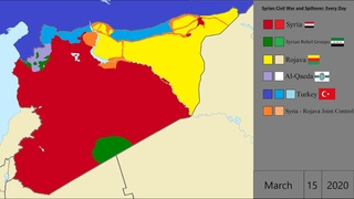 [UPDATE] Syrian Civil War and Spillover: Every Day