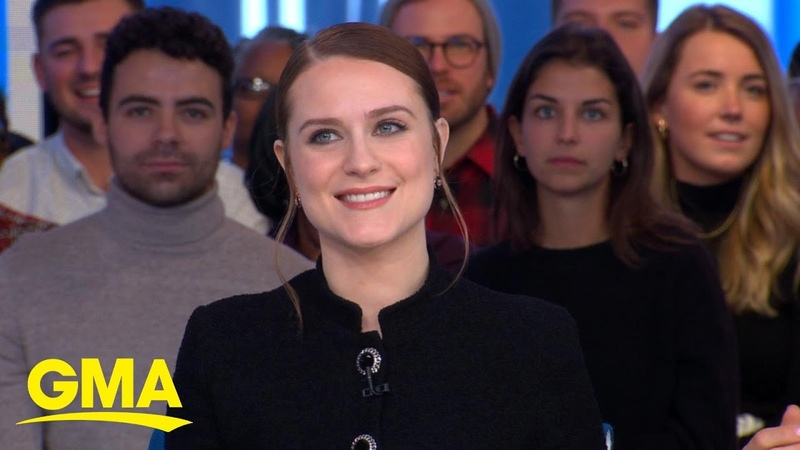 Evan Rachel Wood shares her 6 year old son's review of 'Frozen 2' l GMA