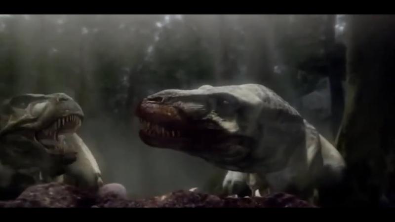 Сражения динозавров Доисторические сверххищники Документальные фильмы National Geographic HD