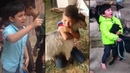 Brave Kids Save Animals From Slaughter