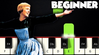 Do-Re-Mi - The Sound Of Music | BEGINNER PIANO TUTORIAL + SHEET MUSIC by Betacustic