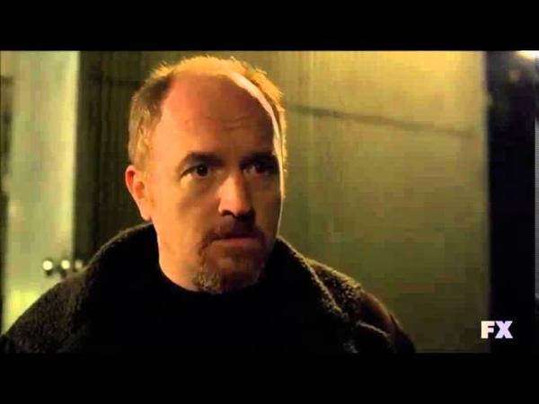 Louie S03E05 Daddy's Girlfriend Pt 2 Rooftop scene