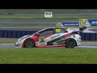ADAC TCR Masters 2016. Race 2 Oschersleben. Battle For Victory On The Last Laps