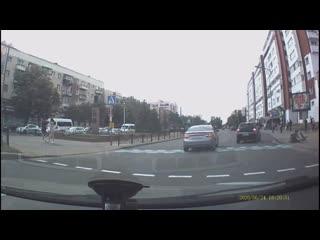 В Бресте на бульваре Космонавтов сбили велосипедиста.
