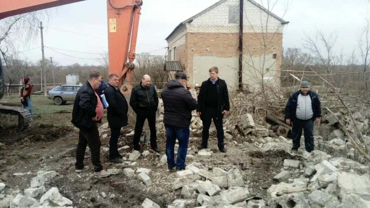 На водозаборе №1 Петровска начинаются работы по строительству новой станции обезжелезивания