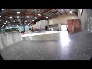 Chris Cole Backside Quadruple Flip The Berrics)