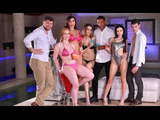Sasha Rose, Kitana Lure, Victoria J aka Scyley Jam, Kiara Lord - An Orgasmic Year Ending - Anal Sex Russian Big Tits Ass, Porn
