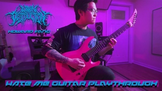 WITHIN DESTRUCTION - HATE ME (GUITAR PLAYTHROUGH)