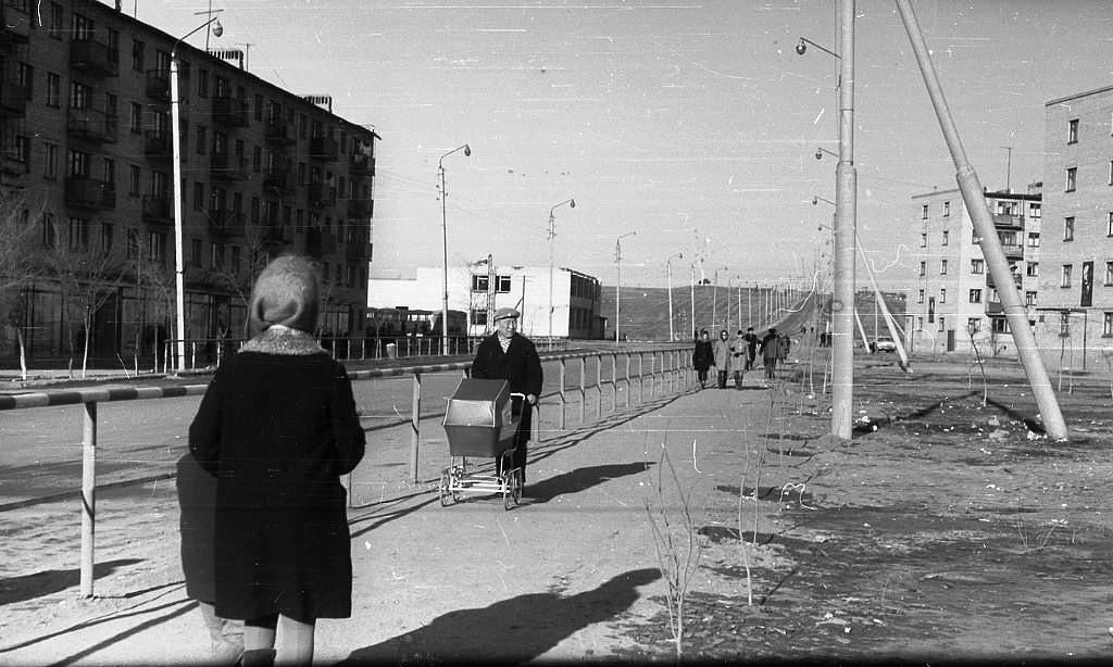 1 микрорайон. 1971 год. Калмыкия-online.ру