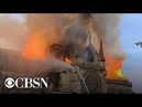 Notre Dame Cathedral in Paris on fire live stream
