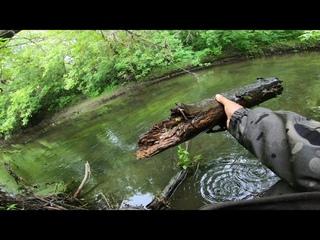 Рыбалка на речке с коротышем. По классным, рыбным местам
