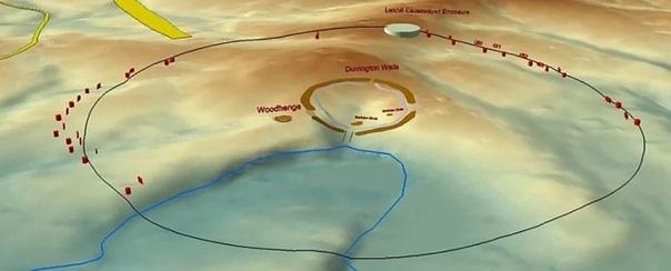 Вокруг Стоунхенджа найдено кольцо древних загадочных рвов