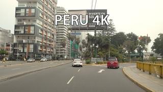 Lima 4K - Malibu and Santa Monica in South America - Peru