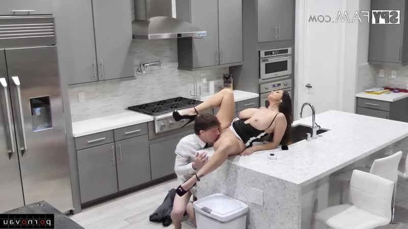 Rion King & Ava Addams [ Mothers &  Big boobs / Intimate haircut , Cumshot in mouth , On the kitchen , Hidden camera , Pussy , b