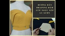 Hướng dẫn draping đầm cúp ngực xếp ly sườn