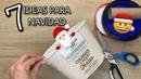 7 Manualidades Navideñas Nuevas/IDEIAS DE DECORAÇÃO DE NATAL 2020 PARA SUA CASA/Christmas Decor 2020