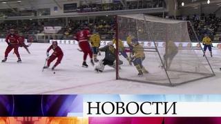 Российская сборная по хоккею с мячом отстояла звание чемпионов мира.