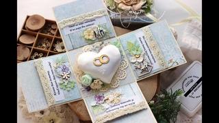 Magic box / Scrapbooking / Мастер класс / Свадебная коробочка