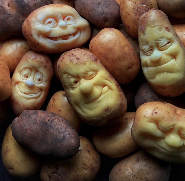 Прикольная картинка картошки