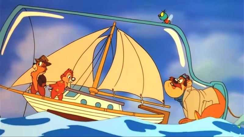 Чип и Дейл спешат на помощь Серия 42 Похищенный рубин Часть 2 Как мы встречались с Рокфором