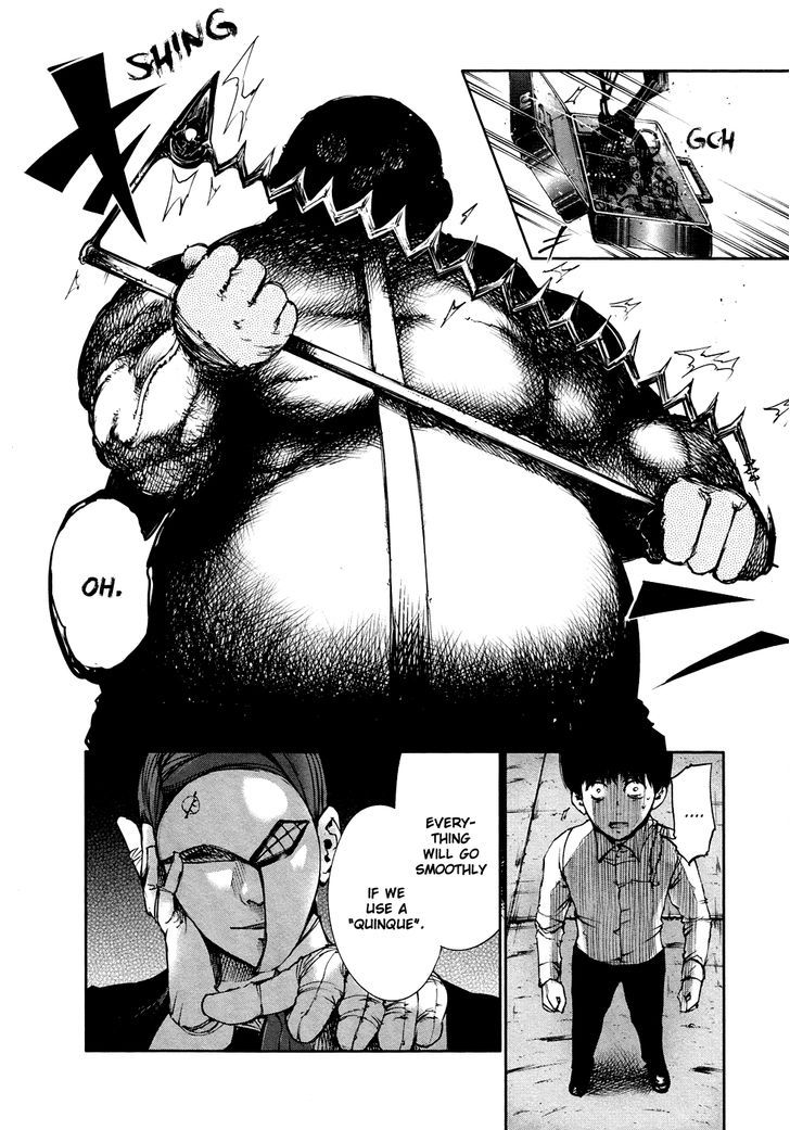 Tokyo Ghoul, Vol.4 Chapter 38 Dismemberment, image #19