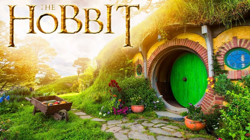 6 Hours ⋄ The Shire [ASMR] 🌳🌲 The Hobbit Lord of the Rings Ambience ⋄ Nature sounds ⋄ Countryside