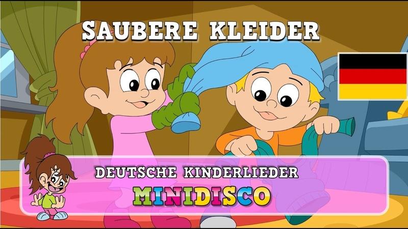 Saubere Kleider Kinderlieder Kindergarten Songs Kinder Tanz Songs von Minidisco