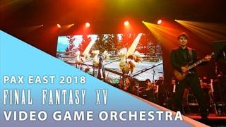 【Final Fantasy XV】 PAX East 2018 Shota Nakama & Video Game Orchestra Performance