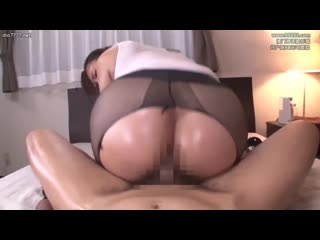 Yanagi Miyu - This Voluptuous Big Ass Wife Is Getting Fucked Without Being Stripped At The Oil Massage Parlor