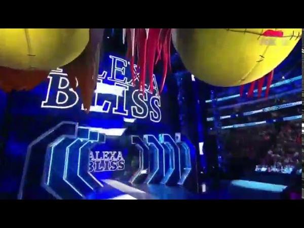 Video@alexablissdaily Alexa Nikki vs Mandy Sonys SmackDown Live 24 01 2020