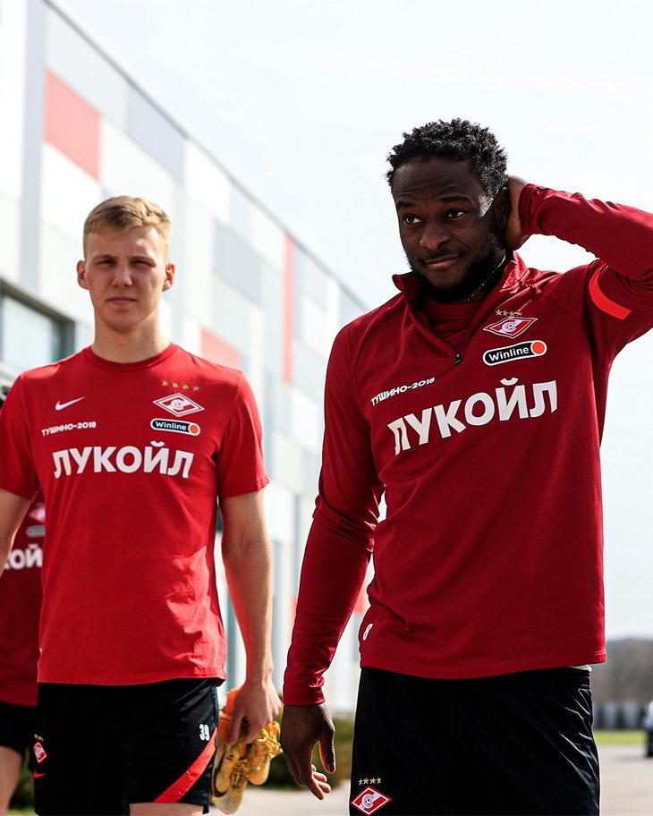 Павел Маслов и Виктор Мозес