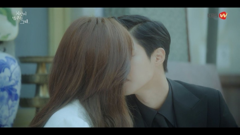 [Official] At The Moment When Time Stopped Ep11_06 첫키스는 이때 처음함♥