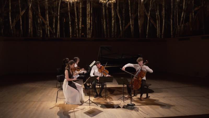 La Grange au Lac Alexandre Kantorow, Liya Petrova, A. Tamestit, B. Philippe - Debussy, Chostakovitch, Brahms (Évian, 9.07.2020)