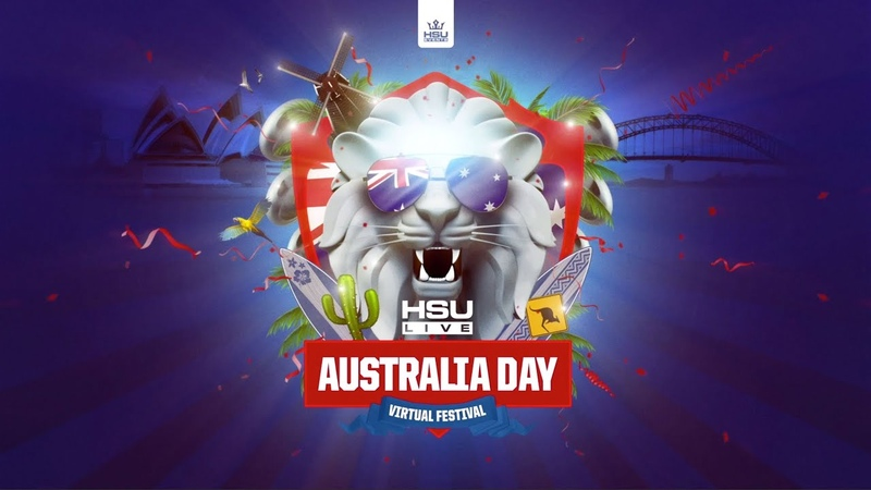 Dr Peacock @ Australia Day HSU Live from Amsterdam