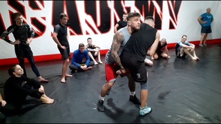 Амосов Ярослав в гостях у Grizzly MMA Academy