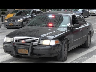 [Unmarked Crown Victoria] NYPD Police Car Responding