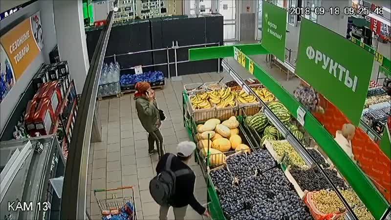 Кражи в супермаркетах