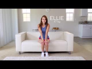 Ellie Eilish - 47kg - Casting Skinny 18 Year old Amateur