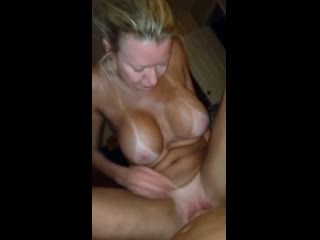 Ride to orgasm busty norwegian granny