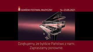 Gdański Festiwal Muzyczny 2021 - Inauguracja Festiwalu – Polska Filharmonia Bałtycka w Gdańsku