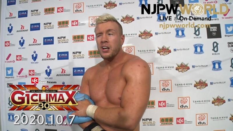 Will Ospreay survives Minoru Suzuki G1 Climax 30