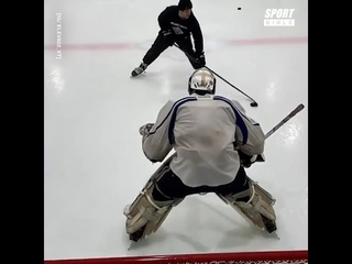 This Lad Is The King Of Ice Hockey Skills