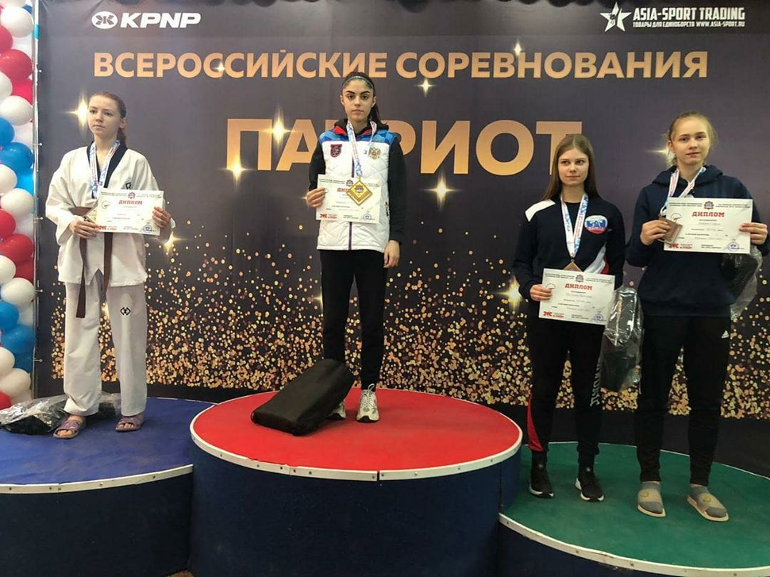 Юные тхэквондисты КЧР успешно выступили в Москве