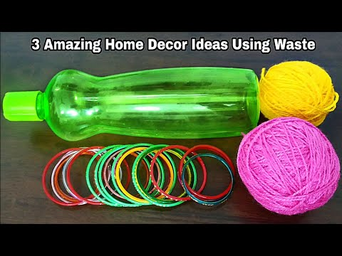 3 Amazing Home Decor Ideas Using Waste Material Superb Home Decor Ideas
